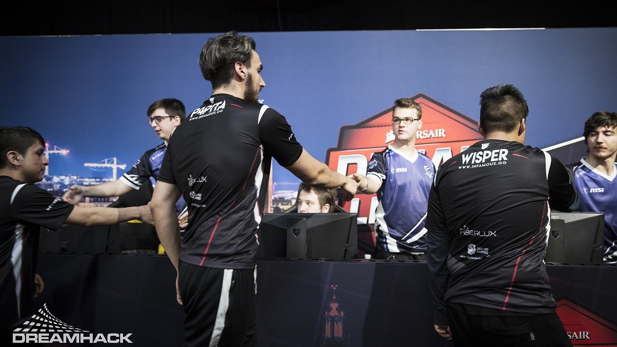 Infamous victorious as Vega head for Lower Bracket