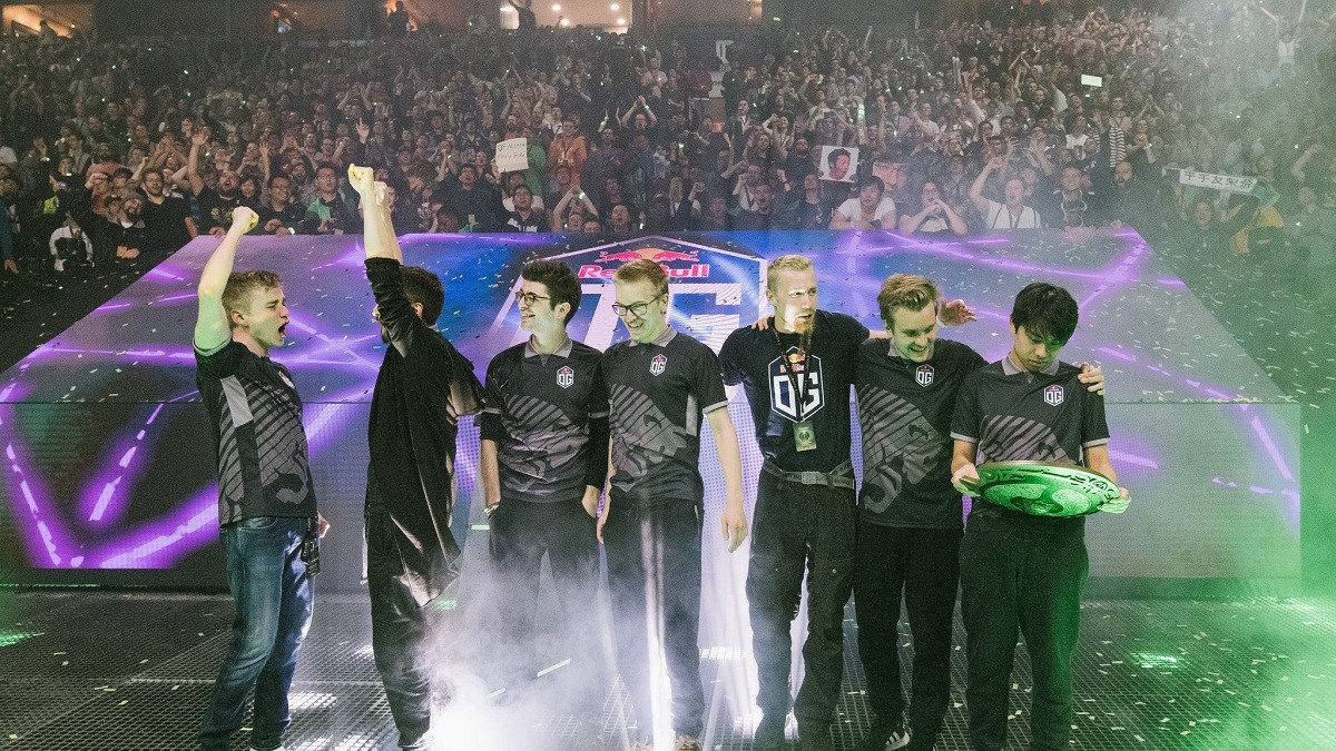 ti8 winner ana takes a break only four players left at og