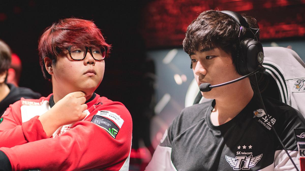 SK Telecom T1 ohne Bang, Wolf und 5 weitere Spieler