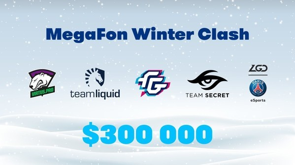 MegaFon Winter Clash kicks off!