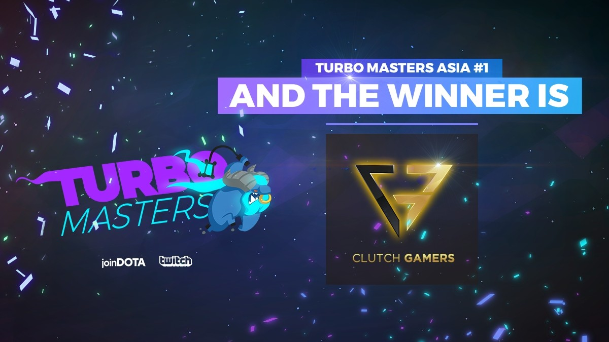 Clutch Gamers claim thrilling win in joinDOTA Turbo Masters!