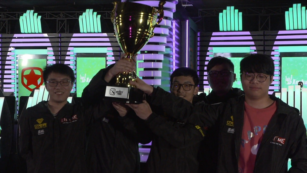 We have a new Minor champion! The dark horse can't stop EHOME