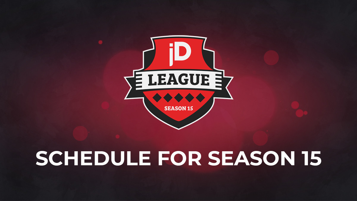 joinDOTA League Season 15 Guide — dates for your calendars