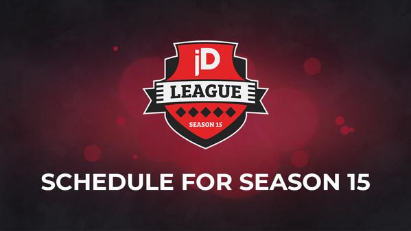 joinDOTA League Season 15 Guide — dates for your calendars