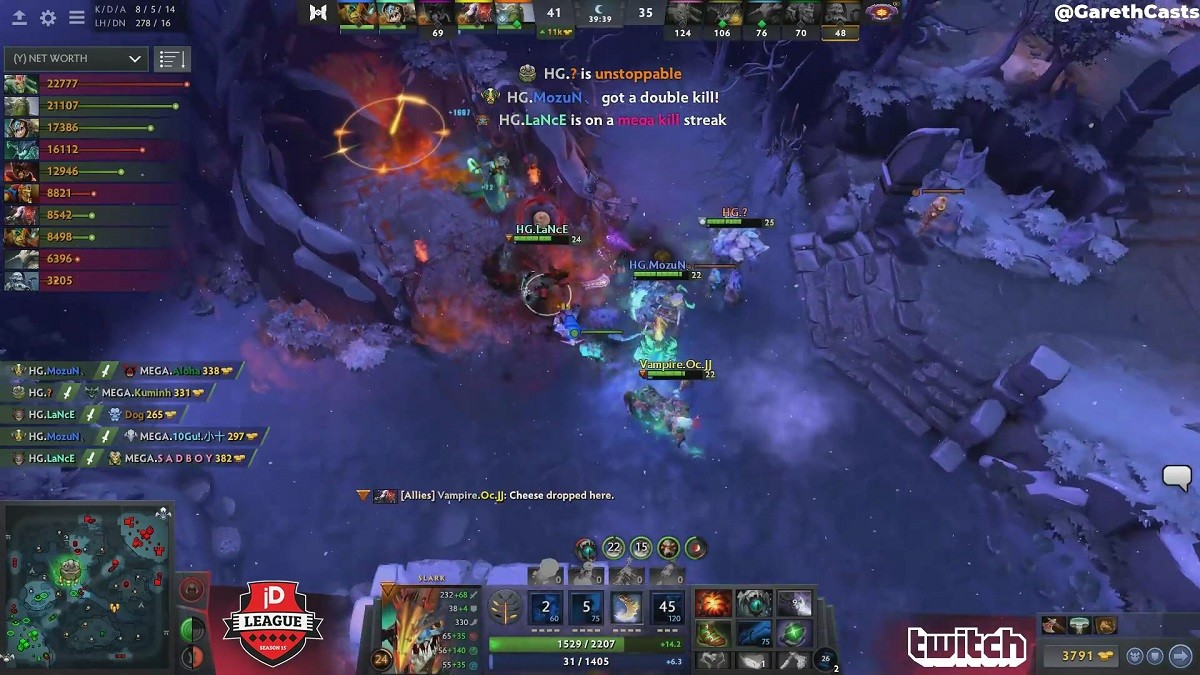 joinDOTA League: Clip of the Week — Slark to the rescue!