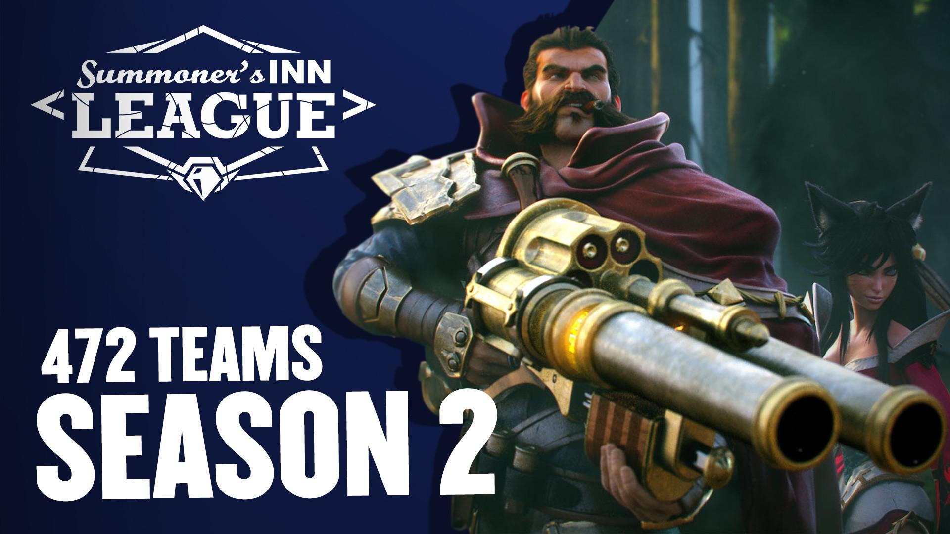Die SINN League startet mit 472 Teams in Season 2!