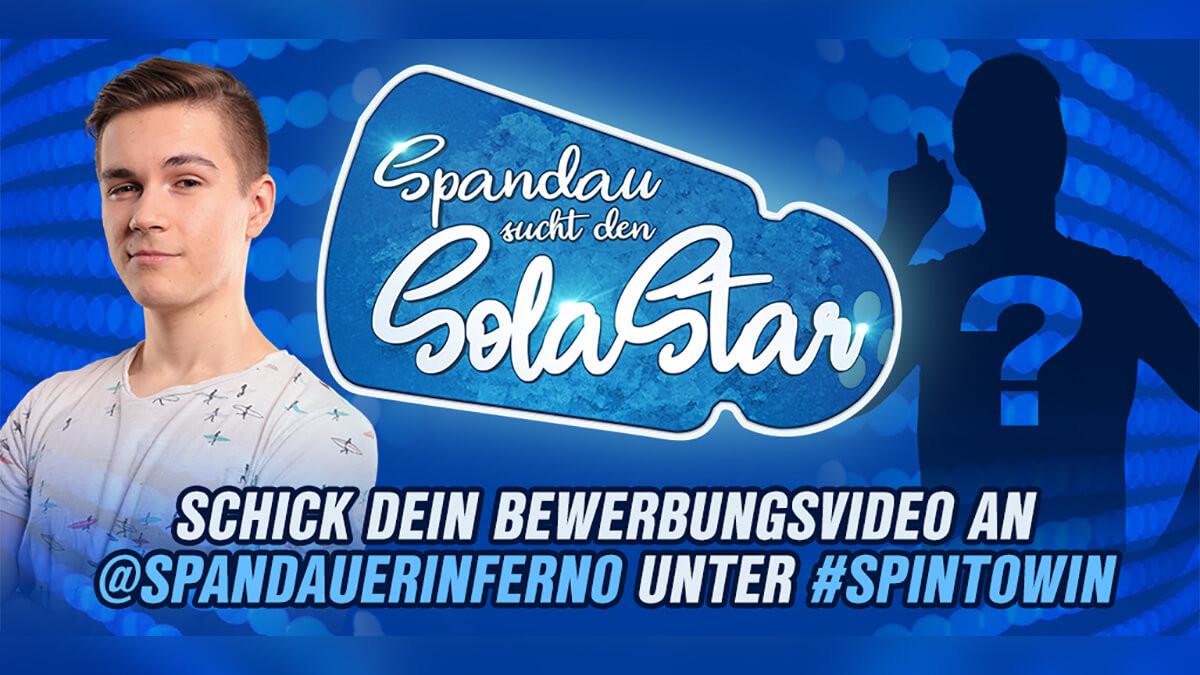 Spiel' mit SPIN im Boostcamp: Spandau sucht den Solastar!