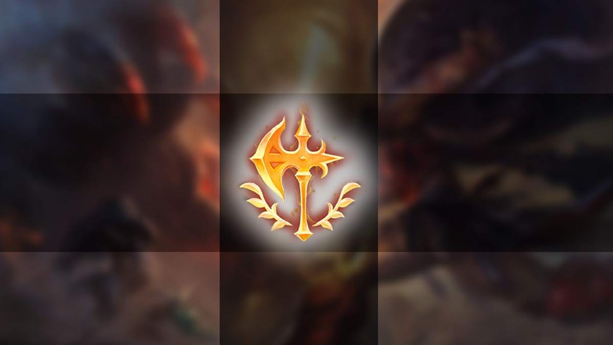 Conqueror-Rune vor Rework?