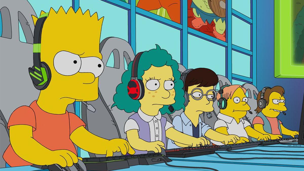 Bart zockt League of Legends - Esport bei den Simpsons