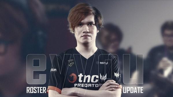 eyyou takes over captaincy of TNC Predator