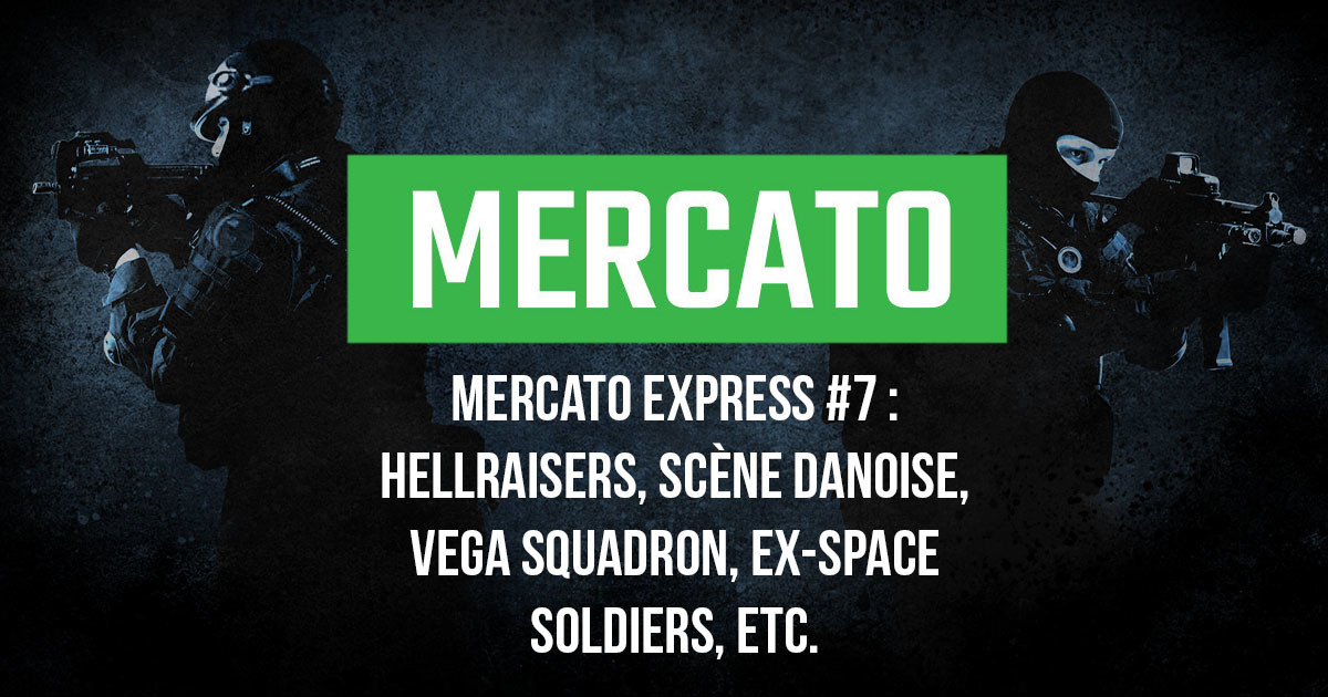 Mercato Express #7 : HellRaisers, scène danoise, Vega, ex-Space Soldiers, etc.