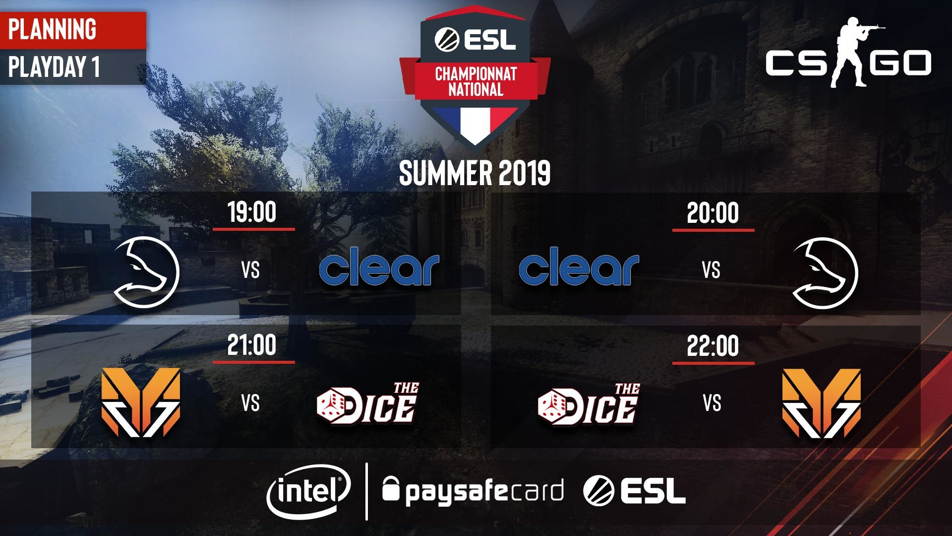 ECN Summer 2019 : Journée 1
