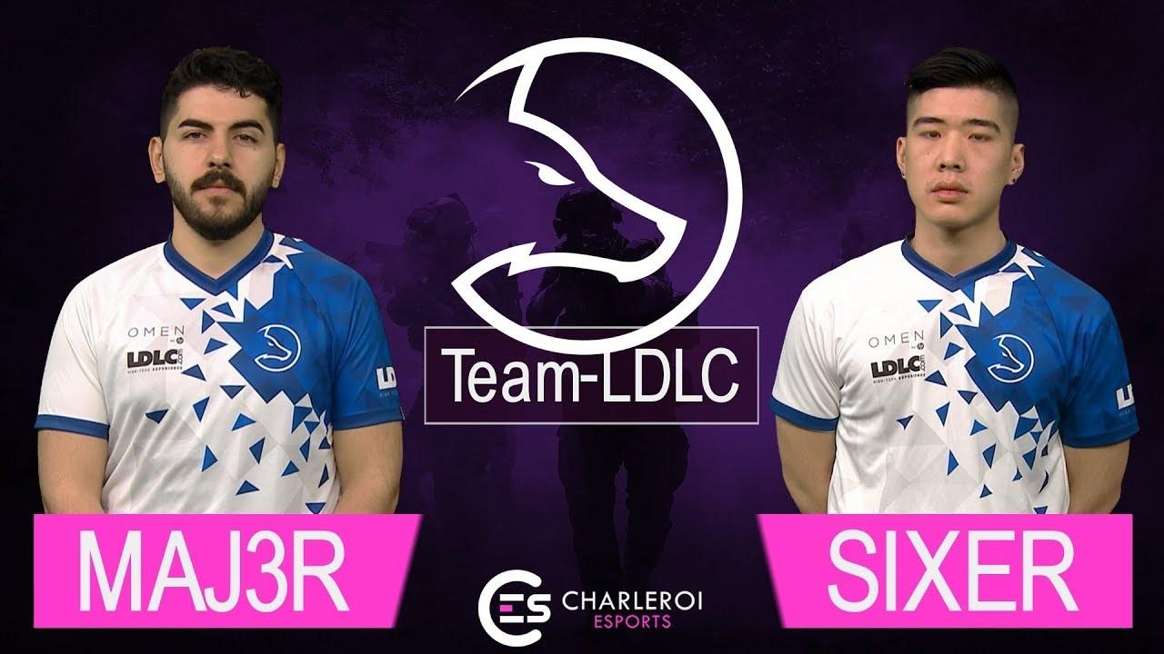 Charleroi Esports : Interview MAJ3R & SIXER (Team-LDLC)