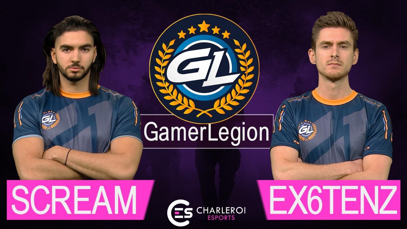 Charleroi Esports : Interview ScreaM & Ex6TenZ (GamerLegion)