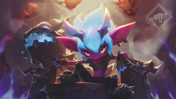 Little Demon Tristana: Community-Skin nimmt Gestalt an