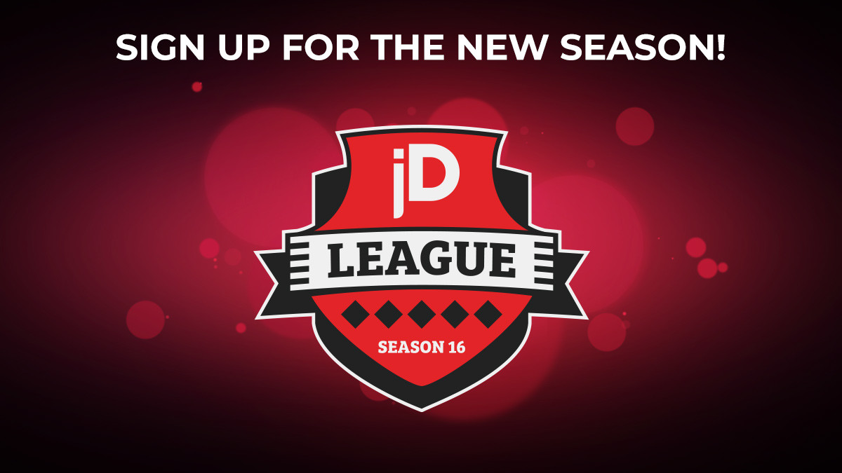 joinDOTA League Season 16 has arrived!