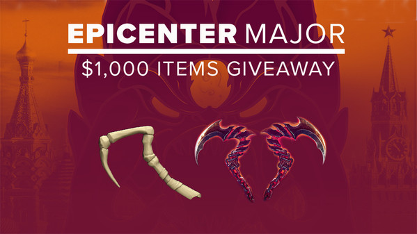EPICENTER Major Grand Giveaway winners drawn
