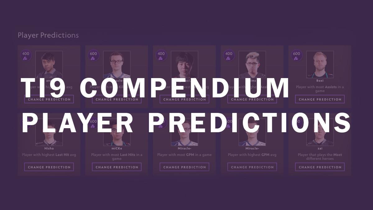 joinDOTA's TI9 player prediction guide