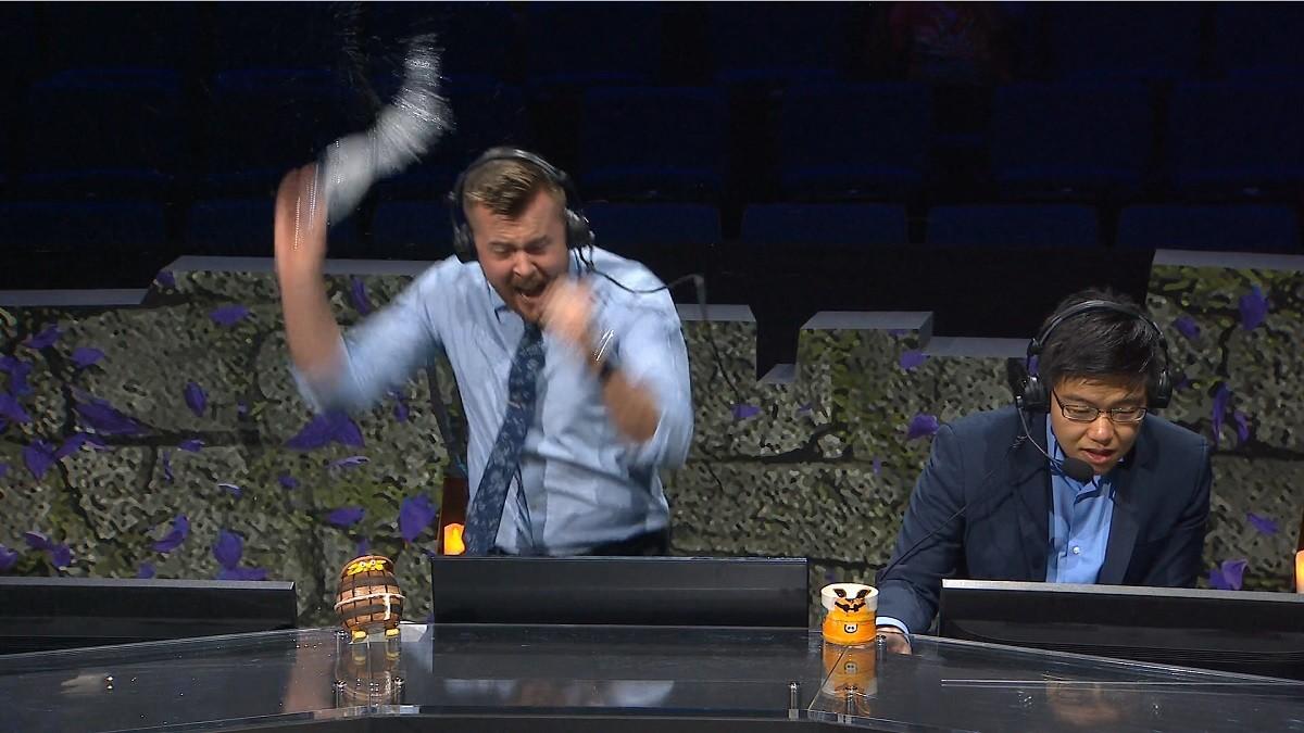 The best Twitter reactions of the Secret vs. Mineski game