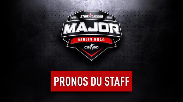 StarLadder Major Berlin : Pronos du staff pour le premier tour