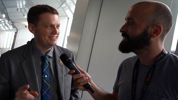 Trent about Day 4 at TI9: [Liquid], they woke up!