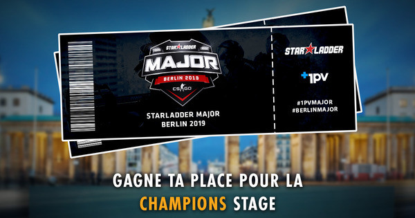New Champions Stage : 15 places à gagner !