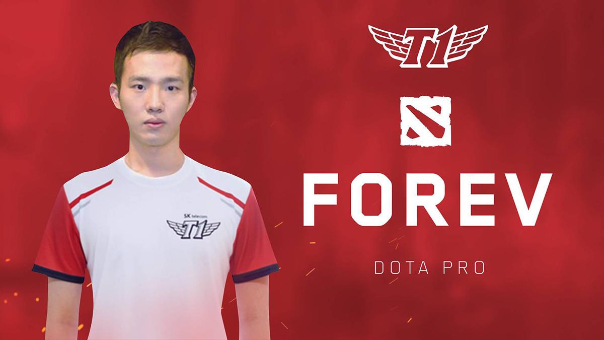 SK Telecom T1 reveal Dota roster