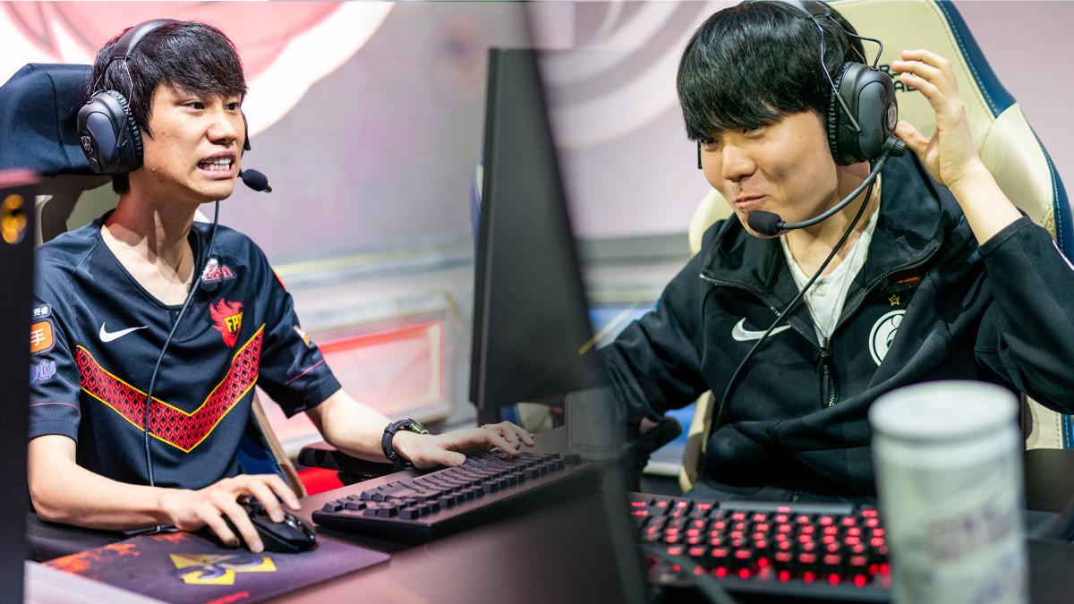 Duell der chinesischen Superteams im Worlds-Halbfinale