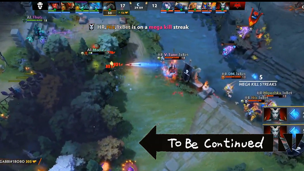 Dota Summit highlight clips - fast deaths and many kills