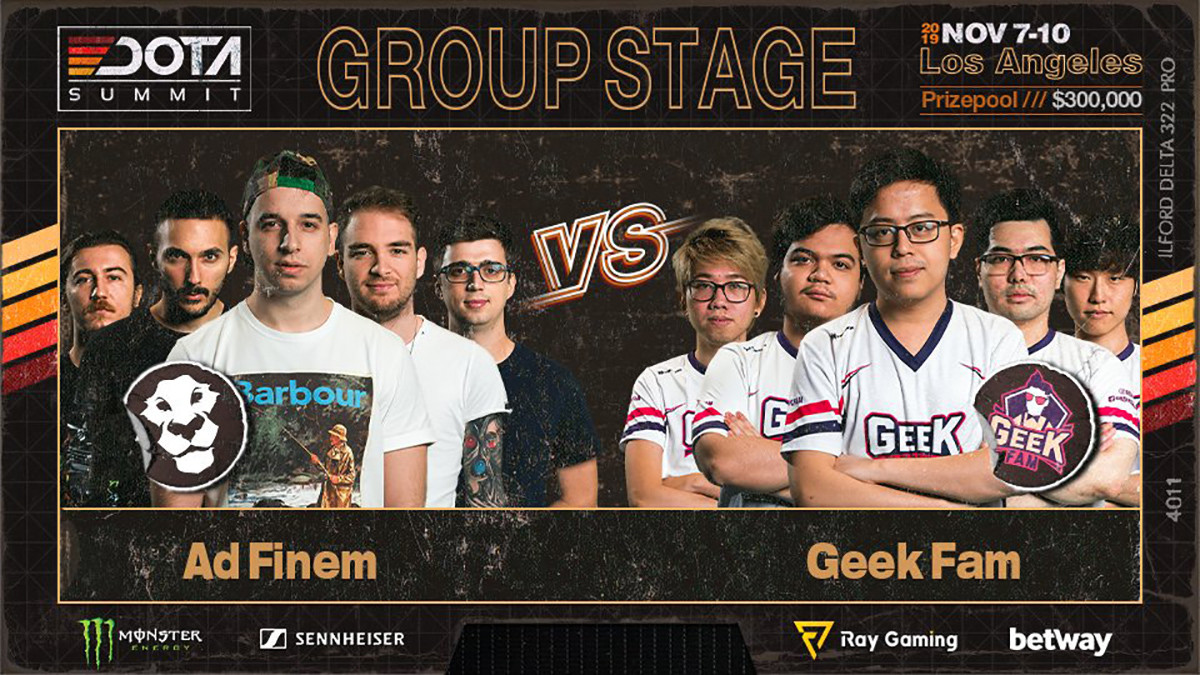 Summit 11 Minor Match Spotlight:  Ad Finem vs Geek Fam