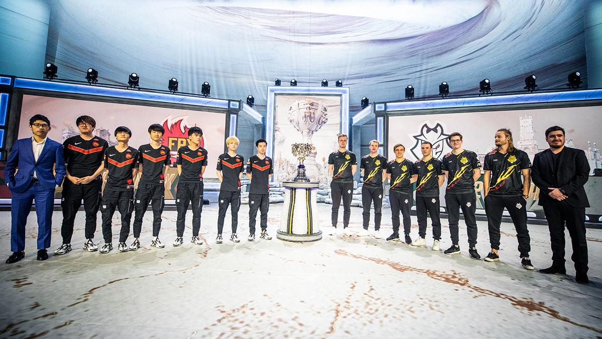 G2 Esports oder FunPlus Phoenix? Die SINN-Crew tippt das Worlds-Finale