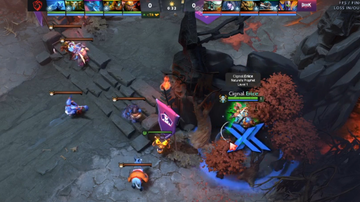 Courier sniping fail and revenge matches in SEA and SA Bukovel Qualifiers