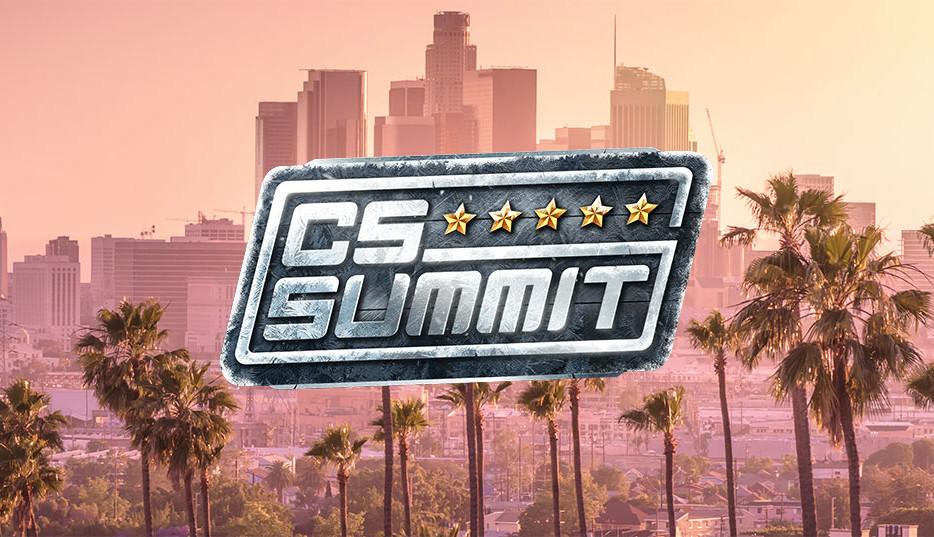 cs_summit 5 : mouz avec un stand-in et son coach devant G2...