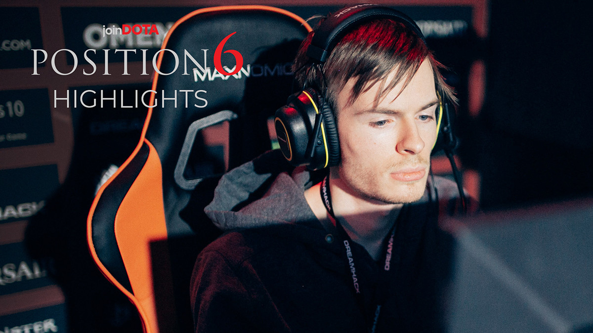 """iAnnihilate: """"In Dota, there isn't much reason to stay in NA""""   Position 6 Highlights"""