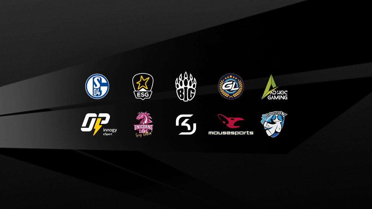Das sind die zehn Teams der Pro Division in der Prime League