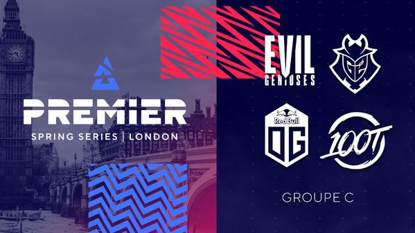 BLAST Premier Spring 2020 : G2 et OG qualifiés !