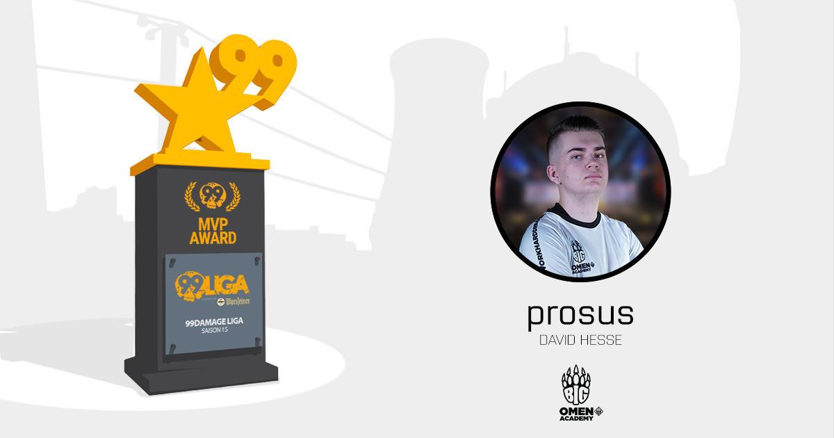prosus ist MVP der zweiten Spielwoche *Update*