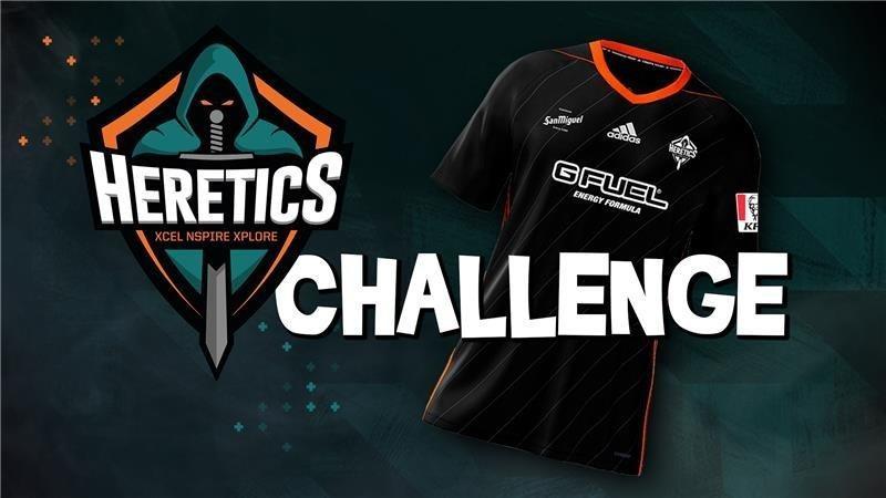 Heretics Challenge : Gagnez un maillot Heretics !