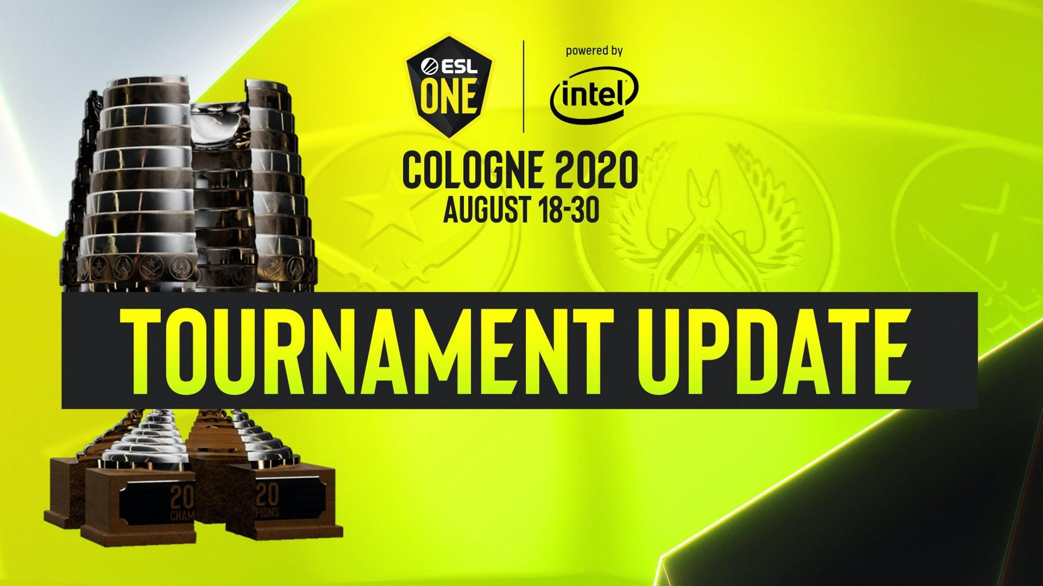 L'ESL One Cologne se jouera online