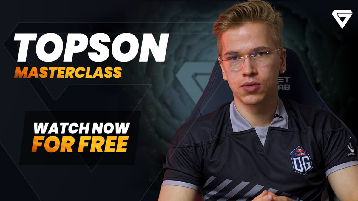 Free midlane master class with back to back TI winner Topson