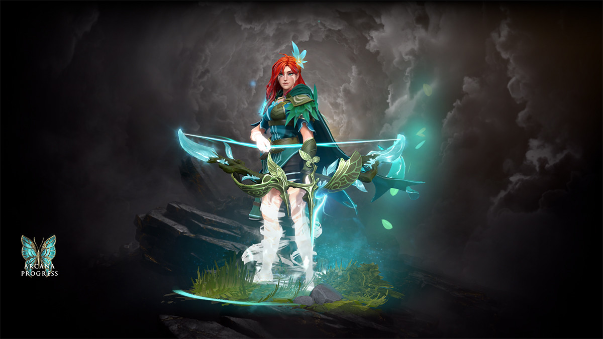 Windranger Arcana released – the best set of the 2020 compendium?