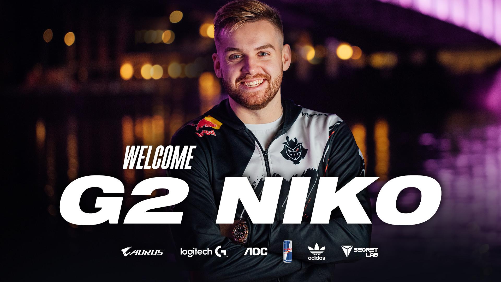 Officiel : NiKo chez G2 !