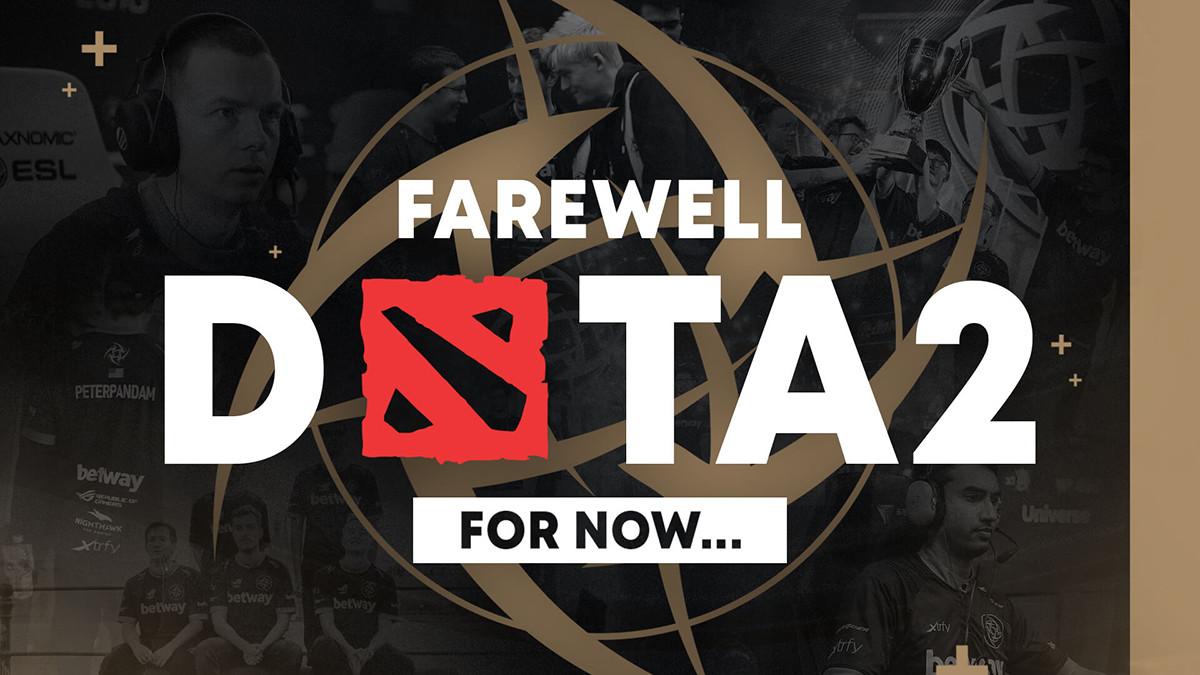 Ninjas in Pyjamas shut down their Dota team mid tournament