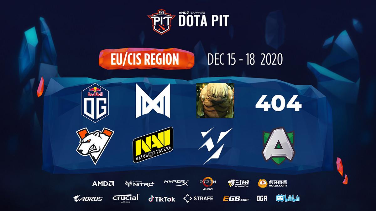 New OGA Dota PIT tournament announced – two top teams take a break