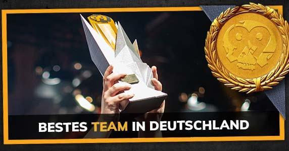 Bestes deutsches Team des Jahres 2020