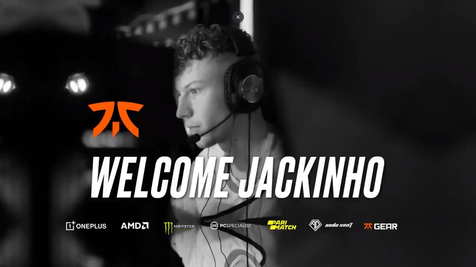 fnatic officialise Jackinho
