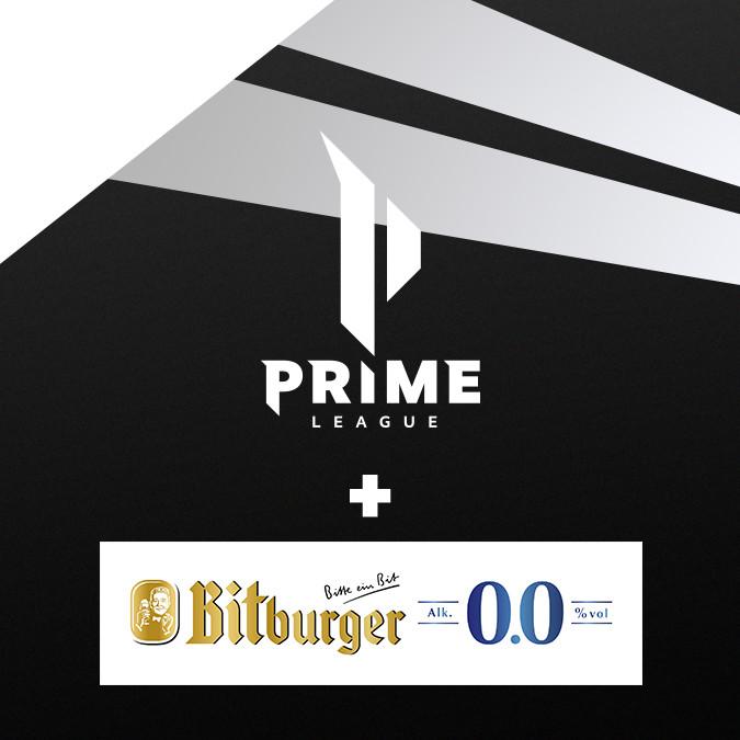 Bitburger 0,0% erfrischt die Prime League als neuer Partner
