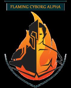 Flaming Cyborg Alpha