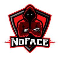 NoFace-Gaming Black