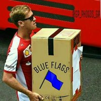 COME ON, BLUE FLAGS!